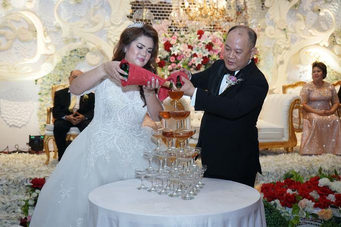 Wedding day of Sui Hoa dan Juhana by Angke Restaurant & Ballroom Jakarta - 005