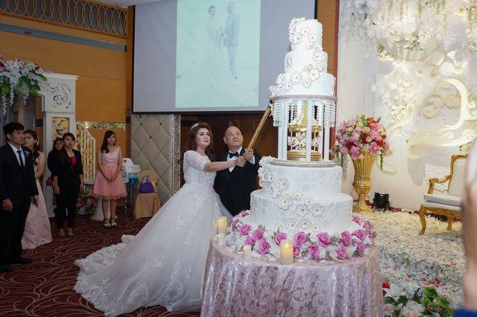 Wedding day of Sui Hoa dan Juhana by Angke Restaurant & Ballroom Jakarta - 004