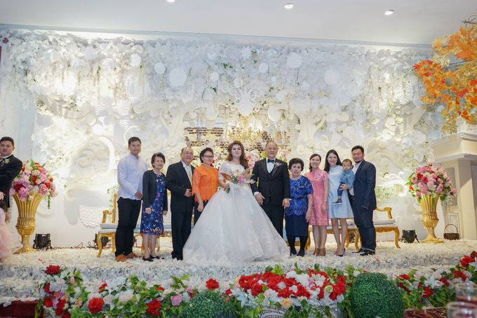 Wedding day of Sui Hoa dan Juhana by Angke Restaurant & Ballroom Jakarta - 006