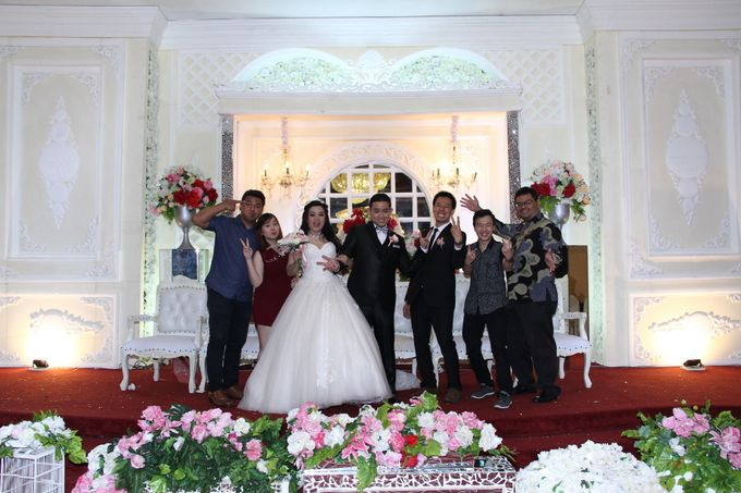 Weddding day of Christian & Silvia at Angke Restaurant Kelapa Gading by Angke Restaurant & Ballroom Jakarta - 009