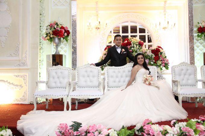 Weddding day of Christian & Silvia at Angke Restaurant Kelapa Gading by Angke Restaurant & Ballroom Jakarta - 003