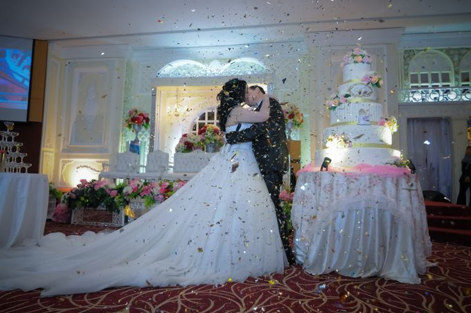 Weddding day of Christian & Silvia at Angke Restaurant Kelapa Gading by Angke Restaurant & Ballroom Jakarta - 008