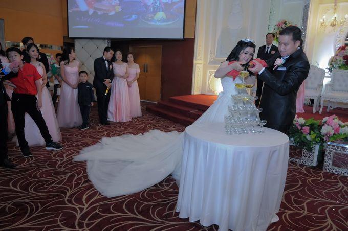 Weddding day of Christian & Silvia at Angke Restaurant Kelapa Gading by Angke Restaurant & Ballroom Jakarta - 006