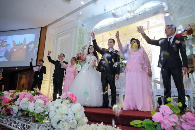 Weddding day of Christian & Silvia at Angke Restaurant Kelapa Gading by Angke Restaurant & Ballroom Jakarta - 001