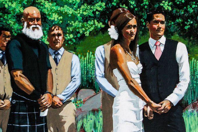 Live Wedding Art by TayloredArt - 002