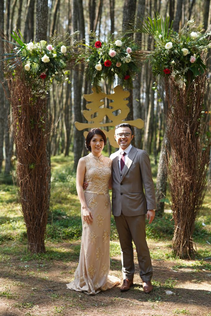 Nita & Edwin Wedding At PineHill Cibodas by Josh & Friends Entertainment - 017
