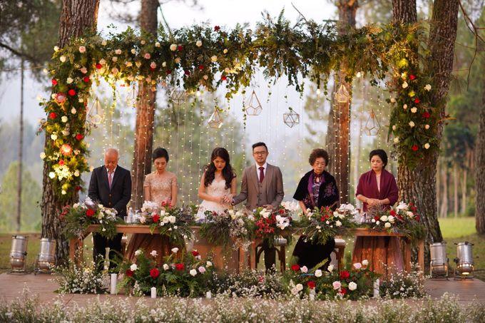 Nita & Edwin Wedding At PineHill Cibodas by Josh & Friends Entertainment - 020