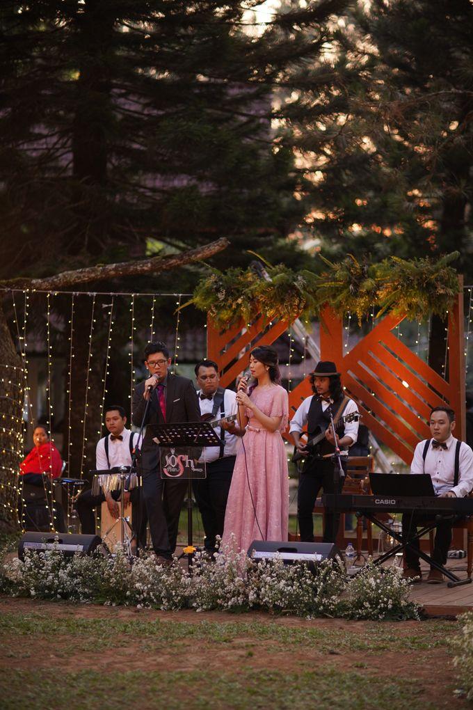 Nita & Edwin Wedding At PineHill Cibodas by Josh & Friends Entertainment - 013