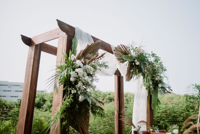 The Wedding of Gevia & Habib di Seribu Rasa Summarecon Bekasi by Decor Everywhere - 003