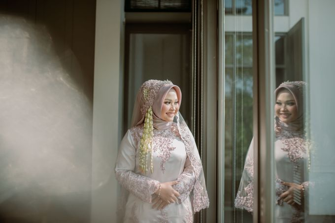 The Wedding of Gevia & Habib di Seribu Rasa Summarecon Bekasi by Decor Everywhere - 018