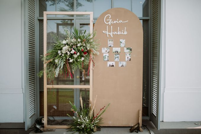 The Wedding of Gevia & Habib di Seribu Rasa Summarecon Bekasi by Decor Everywhere - 009