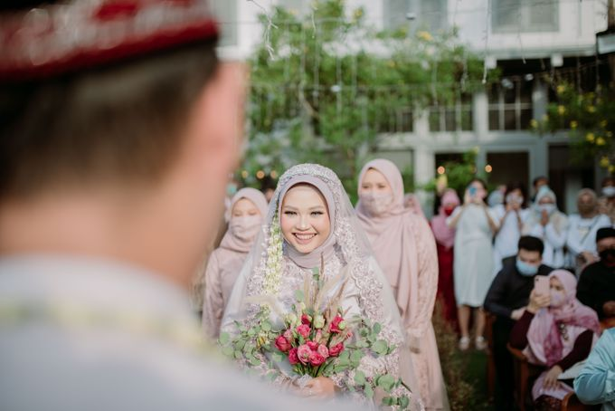 The Wedding of Gevia & Habib di Seribu Rasa Summarecon Bekasi by Decor Everywhere - 028