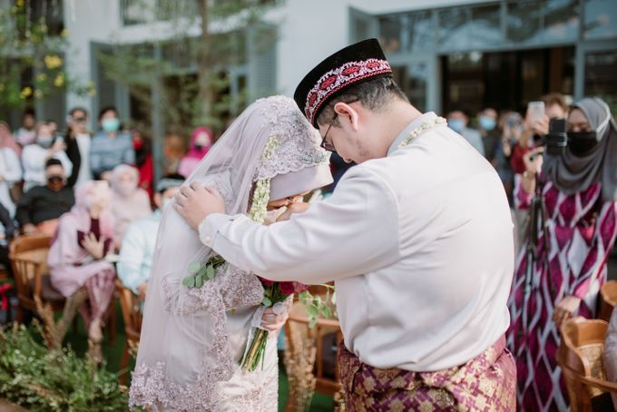 The Wedding of Gevia & Habib di Seribu Rasa Summarecon Bekasi by Decor Everywhere - 029