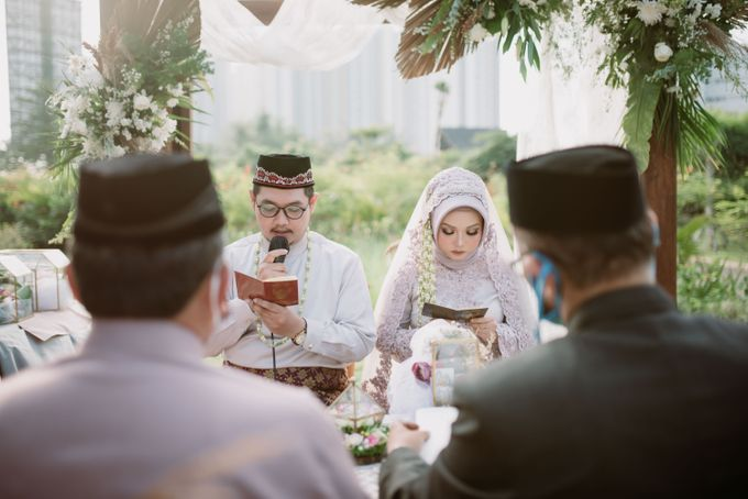 The Wedding of Gevia & Habib di Seribu Rasa Summarecon Bekasi by Decor Everywhere - 030