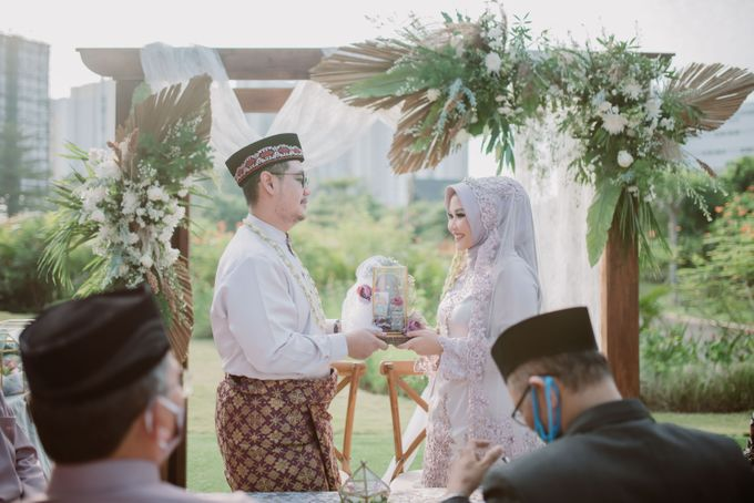 The Wedding of Gevia & Habib di Seribu Rasa Summarecon Bekasi by Decor Everywhere - 032