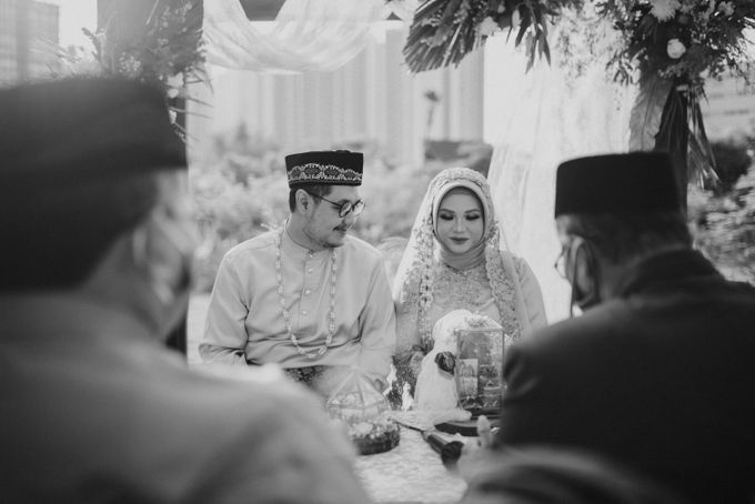 The Wedding of Gevia & Habib di Seribu Rasa Summarecon Bekasi by Decor Everywhere - 033