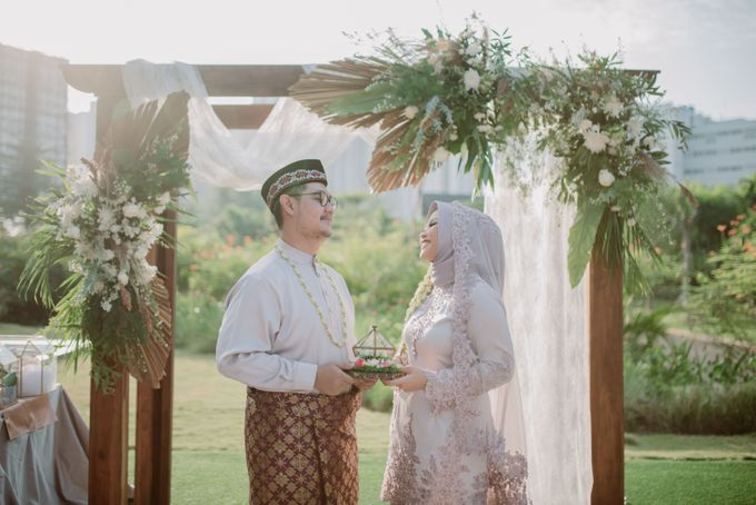 The Wedding of Gevia & Habib di Seribu Rasa Summarecon Bekasi by Decor Everywhere - 035