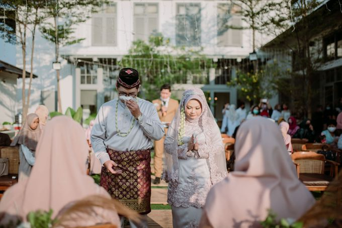 The Wedding of Gevia & Habib di Seribu Rasa Summarecon Bekasi by Decor Everywhere - 036
