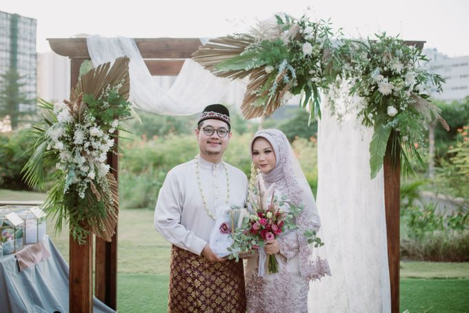 The Wedding of Gevia & Habib di Seribu Rasa Summarecon Bekasi by Decor Everywhere - 038