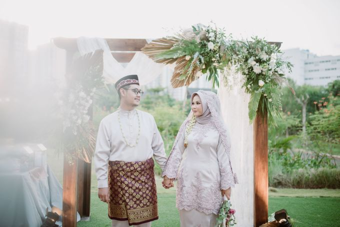 The Wedding of Gevia & Habib di Seribu Rasa Summarecon Bekasi by Decor Everywhere - 039
