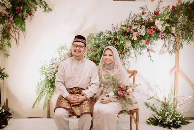 The Wedding of Gevia & Habib di Seribu Rasa Summarecon Bekasi by Decor Everywhere - 043