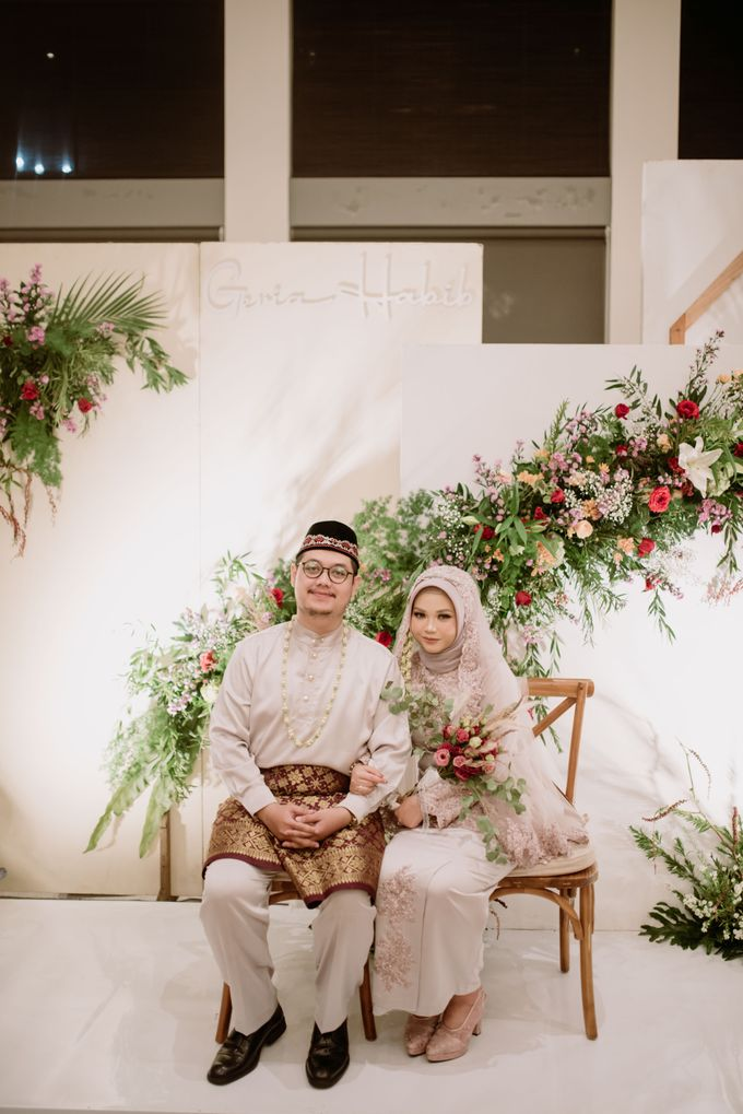 The Wedding of Gevia & Habib di Seribu Rasa Summarecon Bekasi by Decor Everywhere - 044