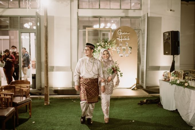 The Wedding of Gevia & Habib di Seribu Rasa Summarecon Bekasi by Decor Everywhere - 046