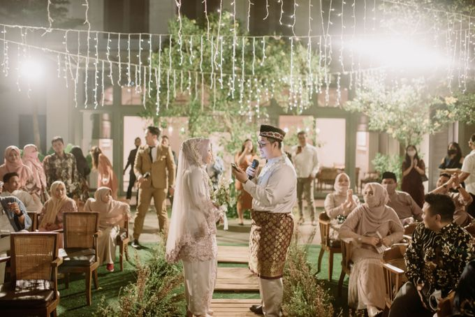 The Wedding of Gevia & Habib di Seribu Rasa Summarecon Bekasi by Decor Everywhere - 012