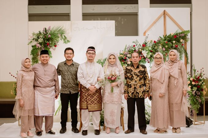 The Wedding of Gevia & Habib di Seribu Rasa Summarecon Bekasi by Decor Everywhere - 041