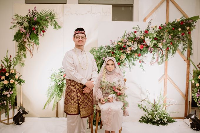 The Wedding of Gevia & Habib di Seribu Rasa Summarecon Bekasi by Decor Everywhere - 048
