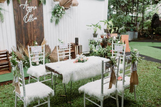 The Wedding of Anggira & Effrin by Decor Everywhere - 003