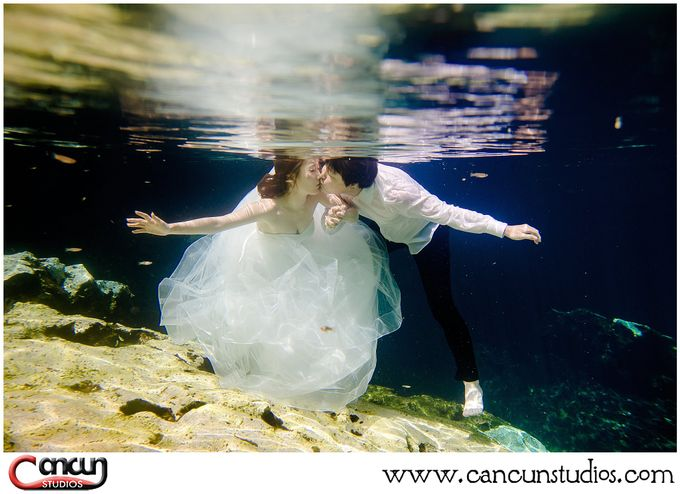 Underwater Cenote by Cancun Studios Photography - 027