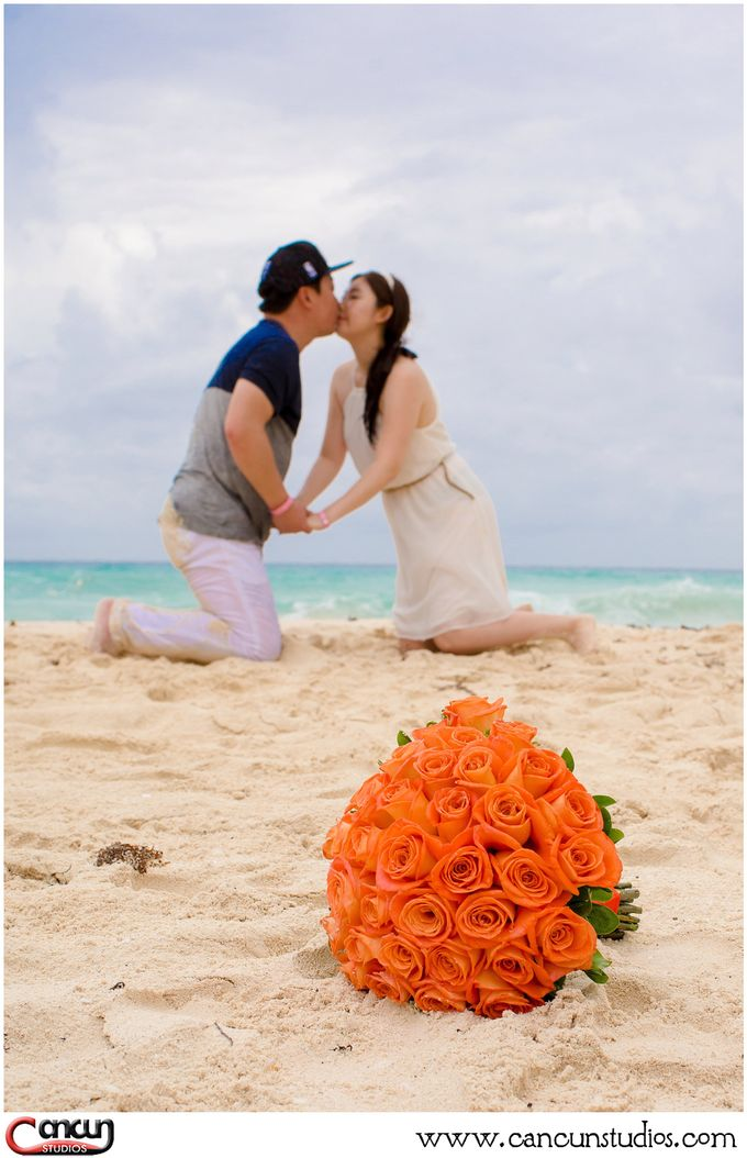 Trash the Dress Beach by Cancun Studios Photography - 007