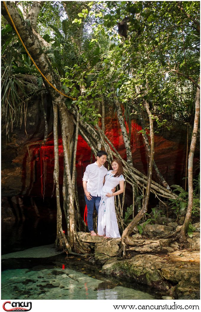 Underwater Cenote by Cancun Studios Photography - 001