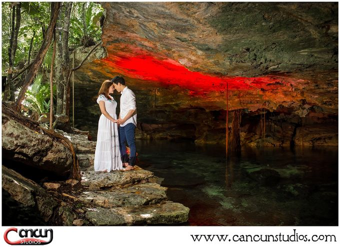 Underwater Cenote by Cancun Studios Photography - 003