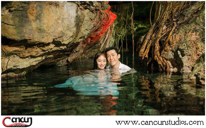 Underwater Cenote by Cancun Studios Photography - 006