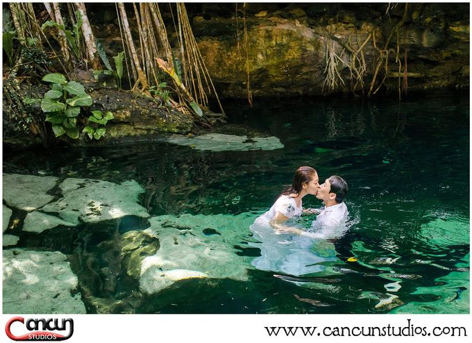 Underwater Cenote by Cancun Studios Photography - 007