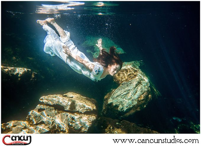 Underwater Cenote by Cancun Studios Photography - 008