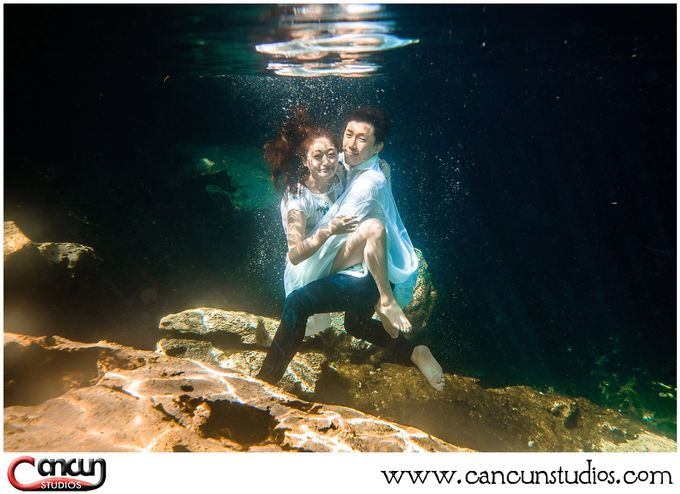 Underwater Cenote by Cancun Studios Photography - 009