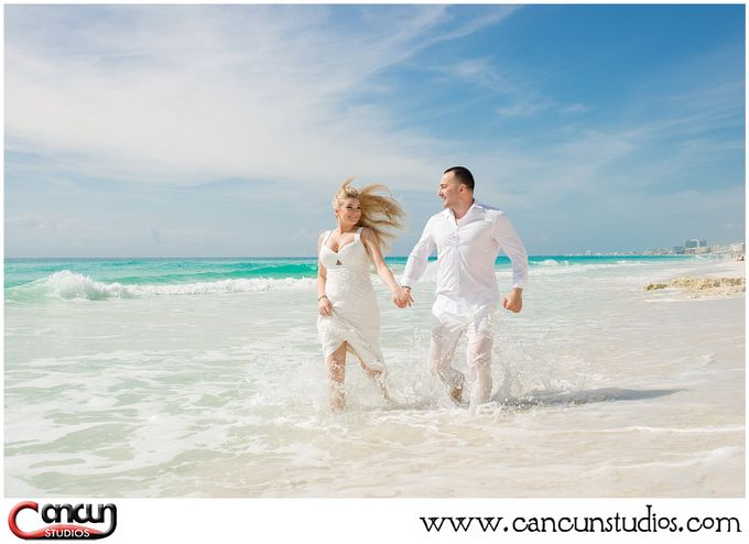 Trash the Dress Beach by Cancun Studios Photography - 008