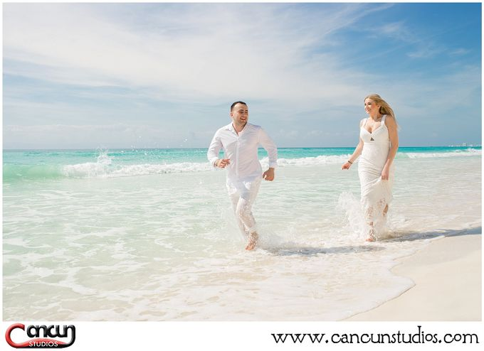 Trash the Dress Beach by Cancun Studios Photography - 009