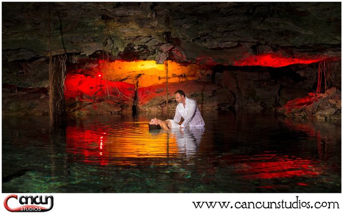 Underwater Cenote by Cancun Studios Photography - 015