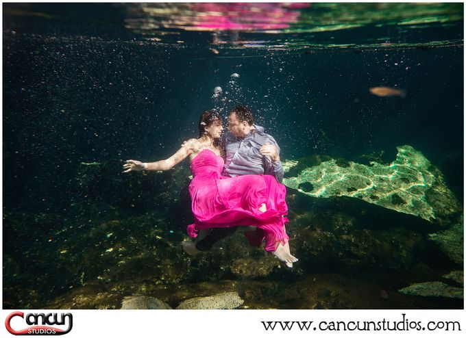 Underwater Cenote by Cancun Studios Photography - 017
