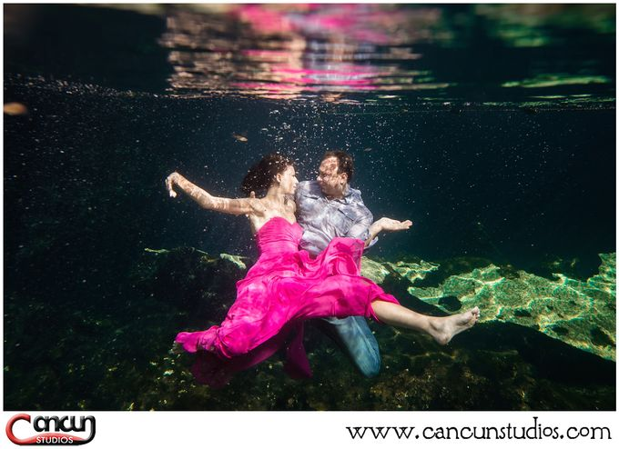 Underwater Cenote by Cancun Studios Photography - 018