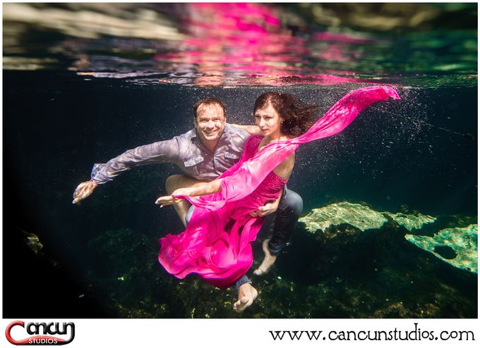 Underwater Cenote by Cancun Studios Photography - 019