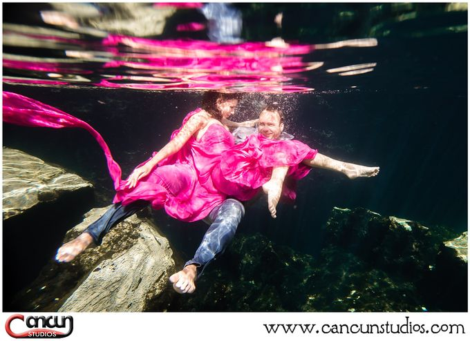 Underwater Cenote by Cancun Studios Photography - 020