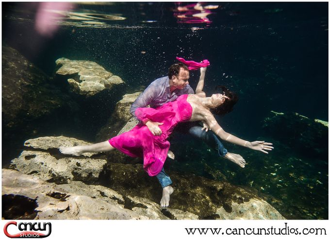 Underwater Cenote by Cancun Studios Photography - 021