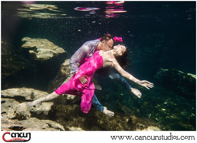 Underwater Cenote by Cancun Studios Photography - 022