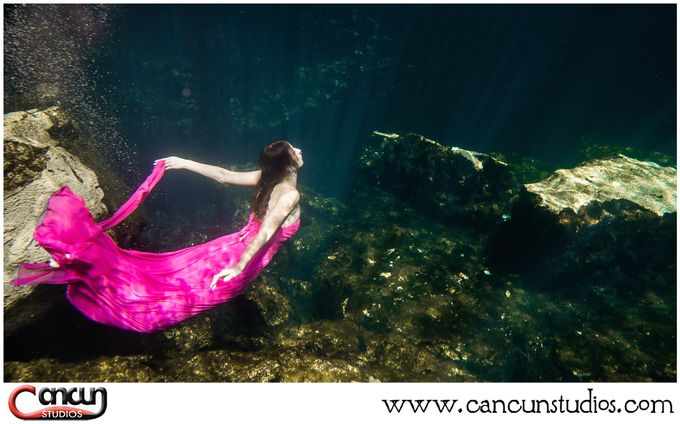 Underwater Cenote by Cancun Studios Photography - 023