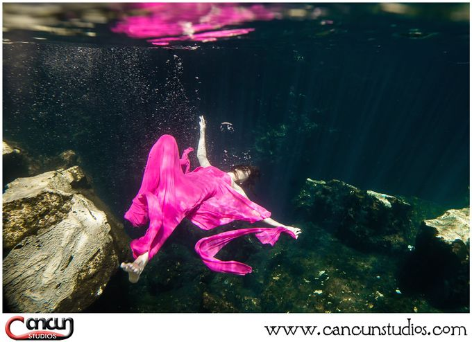 Underwater Cenote by Cancun Studios Photography - 024